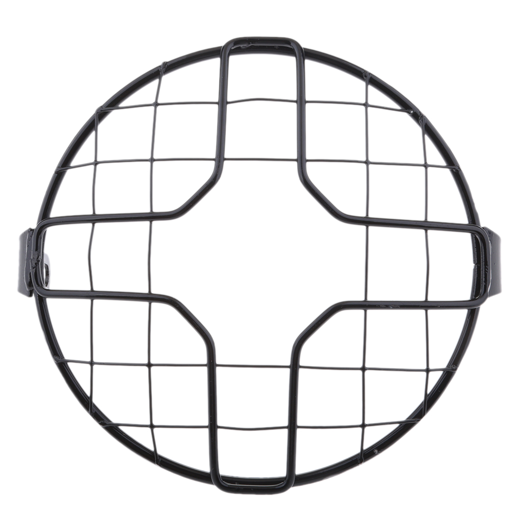 Front Headlight Protector Guard Cover For Motorcycles Chopper Bobber Cafe Racer