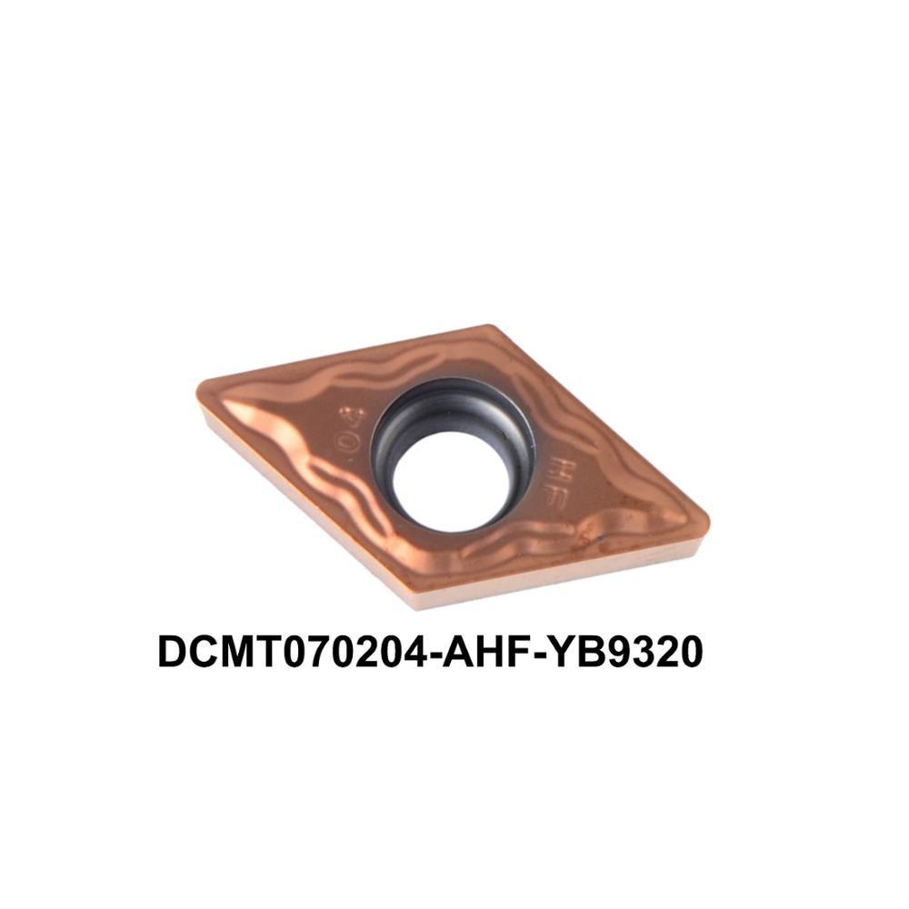 2016 nuovo inserto di tornitura CNC DCMT070204-AHF YB9320 ad alte - Macchine utensili e accessori - Fotografia 1