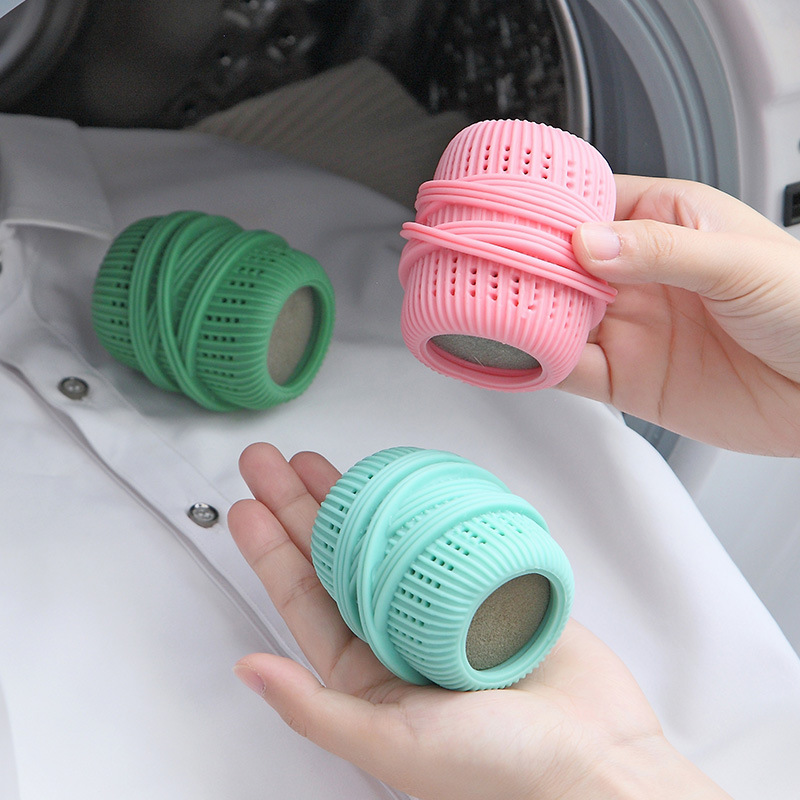 Washing Drying Fabric Softener Ball Reusable Dryer Balls Washing Machine Cleaning Ball for Home Clothes Cleaning Accessories