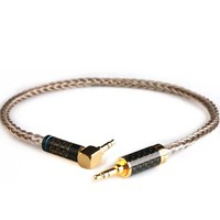 Xiao Fan Gu Ag Pd Cu alloy 3.5mm to 3.5mm Custom interface Cable Aux Audio Cable for Car/Headphone/power amplifier/Oneplus 5t