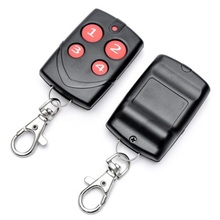 Universal Automatic Cloning Garage Gate Door Remote Control 315/418/433/868MHZ fixed code electric control lock remote control system press on release off time delay 3 12s garage entrance door remote controller 315 433