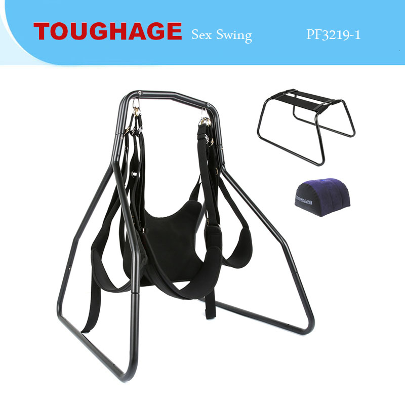 TOUGHAGE <font><b>3</b></font> <font><b>In</b></font> <font><b>1</b></font> <font><b>Sex</b></font> Swing Butterfly Sofa Chair Inflatable Pillow Multipurpose Sexy Games Adult Furnitures <font><b>Sex</b></font> <font><b>Toy</b></font> For Couples image