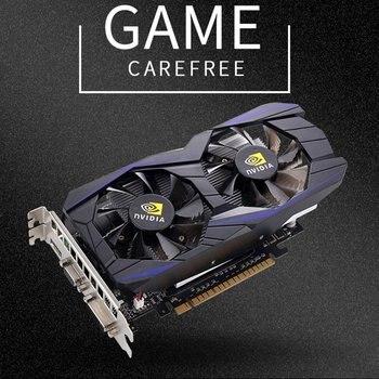 Gtx1050ti 4gb ddr5 placa de vídeo 128bit gddr5 placas gráficas de jogos de computador dvi vga hdmi-cartão de jogo compatível 1