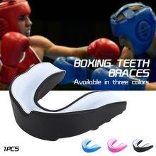 Защита для рта EVA, безопасность, спорт, Защита рта, жвачка, щит, боксерский зуб, полость рта, пинание, тхэквондо, экологические зубы, Чистые дети