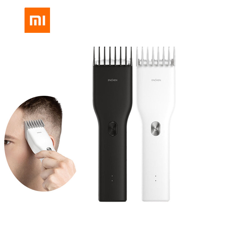 New Xiaomi ENCHEN Boost USB Electric Hair Clipper Two Speed Ceramic Cutter Hair Fast Charging Hair Trimmer Children Hair Clipper