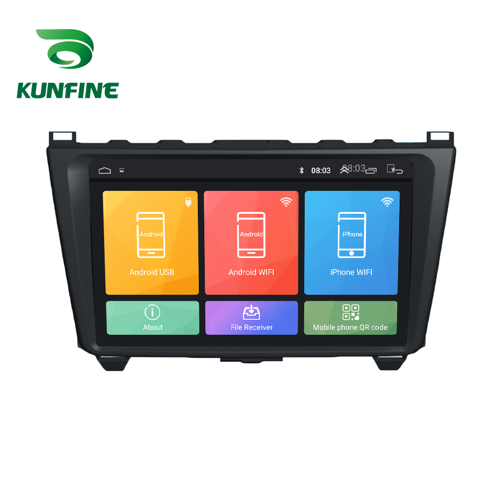 Octa Core 1024*600 Android 8.1 Car DVD <font><b>GPS</b></font> Navigation Player Deckless Car Stereo for <font><b>Mazda</b></font> <font><b>6</b></font> Core-wing 2008 2009 2010-2014 image