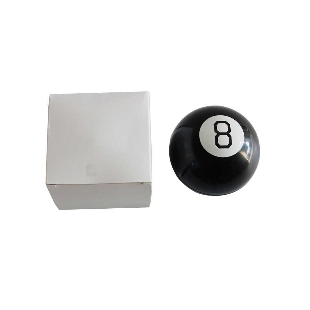 Черный 8 магический шар для предсказания, забавные сферические магические развивающие обучающие игрушки для детей, магические трюки, Классические игрушки