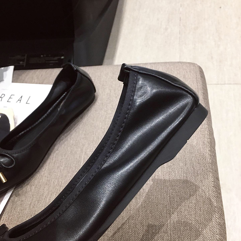 Image 5 - Женская обувь; Sapato Feminino2019; Женские туфли оксфорды; Женская обувь на плоской подошве; Роскошная дизайнерская обувь для женщин; Женские дизайнерские лоферы; Ballerine FemmeОбувь без каблука   -