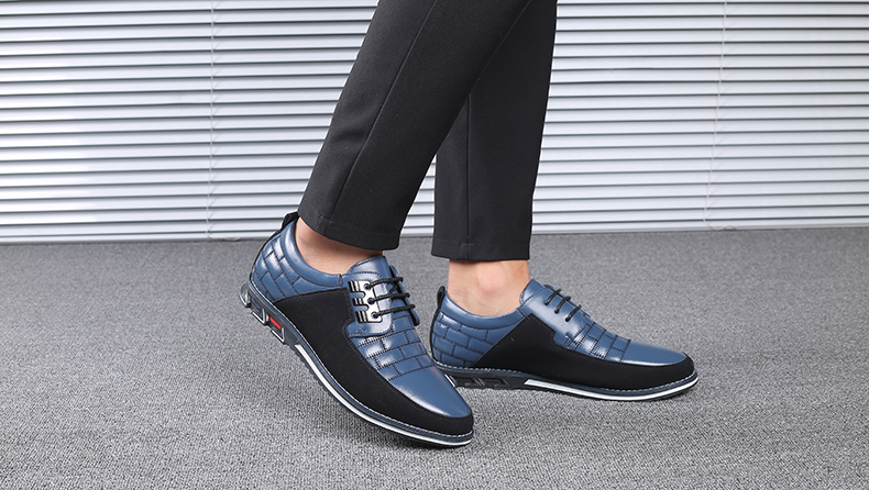 Ha946733373f24dc0a388942ee1f8cab6X Design New Genuine Leather Loafers Men Moccasin Fashion Sneakers Flat Causal Men Shoes Adult Male Footwear Boat Shoes