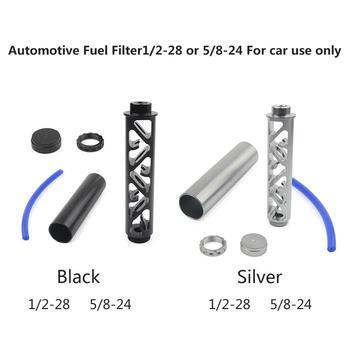 Filtr paliwa samochodowego spirala 1 2X28 lub 5 8X24 7075 aluminium pojedynczy rdzeń do NAPA 4003 WIX 24003 OD 1 358 #8222 długość 6 0 #8221 użytkowania samochodu tanie i dobre opinie 1 2-28 fuel filter 1 2 x 28 7075 Aluminum 240g fuel filter 1 2 x 28 4003 24003 fuel filter 1 2 x 28 aluminum 5 8-24 fuel filter 1 2 x 28 napa