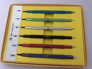 Image 2 - Juego de Herramientas de ajuste para reloj, prensa de manos Vintage, 1 Juego, Envío Gratis