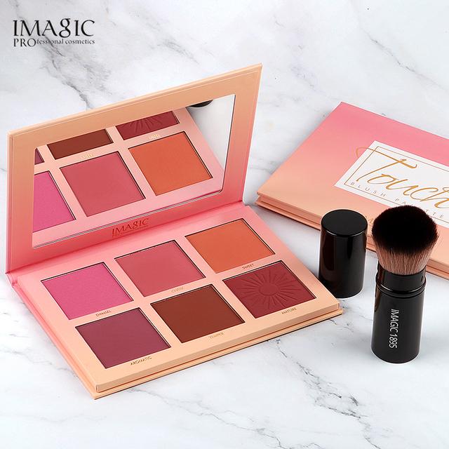 Blush Palette Makeup 6 Colors Professional