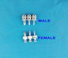 Raccord de seringue Luer femelle mâle 10pk
