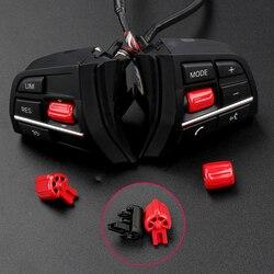 Botón de control de volante de coche para BMW F01 F02 F10 F11, cable de control de volumen, interruptor de audio de volumen multimedia