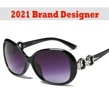 Большие солнцезащитные очки 2021 Новые Модные Винтажные Круглые