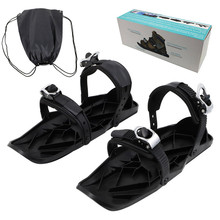 Nylon Skiing Shoes 1 Pair Black color Style C