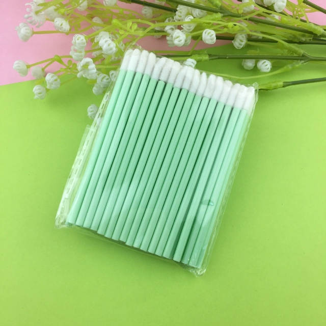 50 Pcs Disposable Lip Brush Eyelash Makeups Brushes Lash Extension Mascara Applicator Lipstick Wands Sets Cosmetic Makeup Tools 4