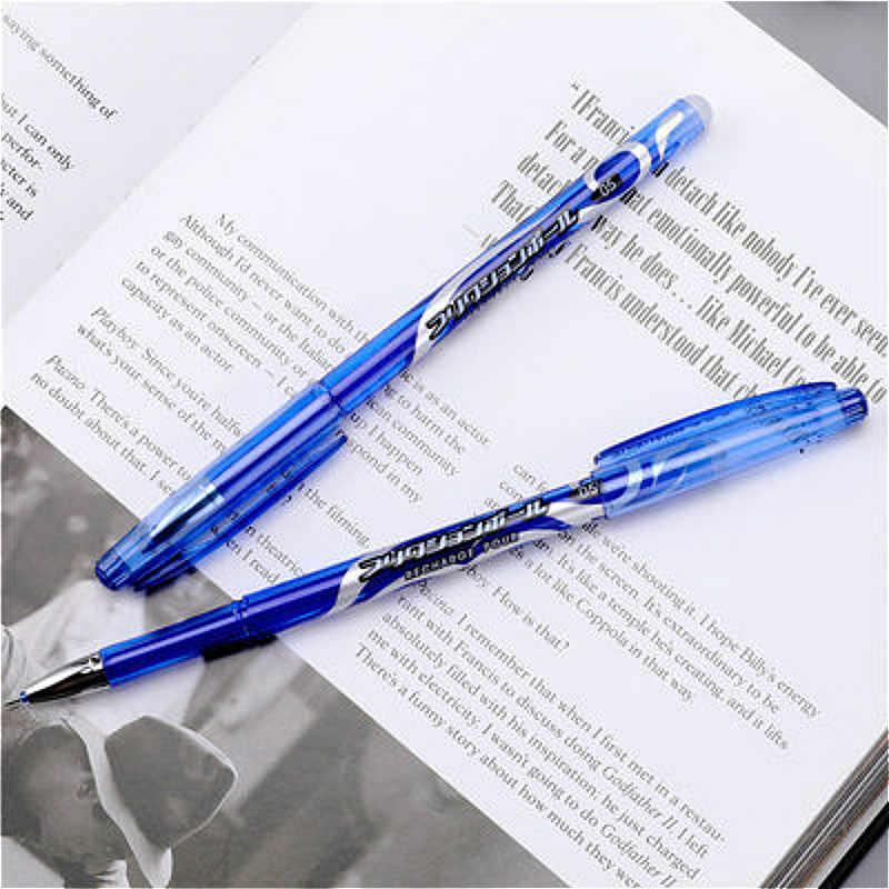 2019 新色消去可能なゲルペンきらめき高品質小説は赤、青インク青と黒魔法書き込み中立ペン