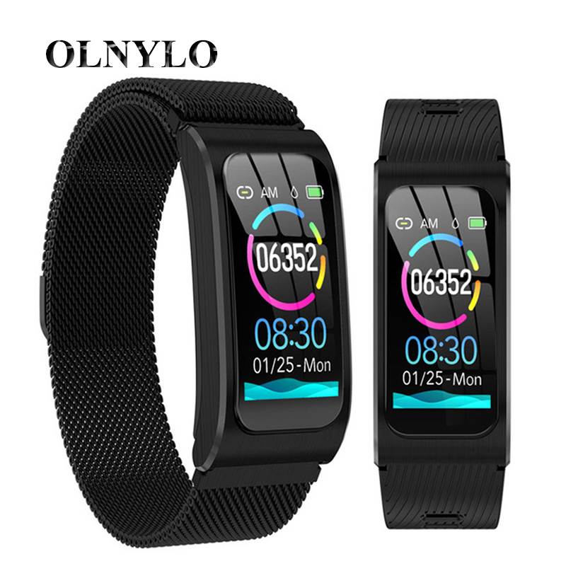 New AK12 Fashion Smart Band Ip68 Waterproof Women Men WatchHeart Rate Monitor Fintness Tracker Smart Bracelet Sports SmartWatch image