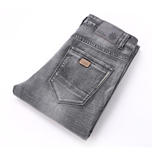 Image 4 - AIRGRACIAS Jeans Men Classic Retro Nostalgia Straight Denim Jeans Men Plus Size 28 38 Men Brand Long Pants Trousers