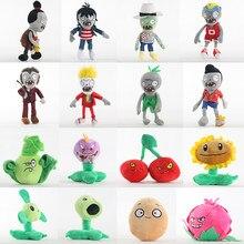 30 cm plants vs zombies pvz brinquedos de pelúcia zumbi barbudo decorações girassol pelúcia boneca macio brinquedo para crianças presente