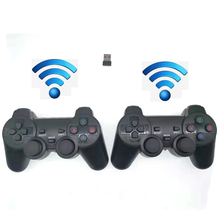 Double Wired Wireless Joypad For 3D Pandora Box Pandora's DX Gaming Controller Arcade Board PC Computer USB Wireless Gamepad