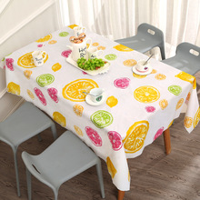 PVC Tablecloth Waterproof Wedding Birthday-Party Kitchen Fashion