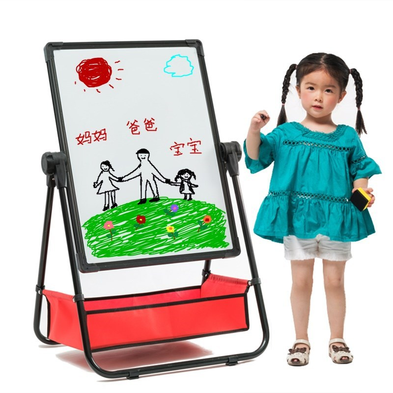 CHILDREN'S Drawing Board Braced Infant Young CHILDREN'S-Scrubbing Blackboard 1-3 Years Old Baby