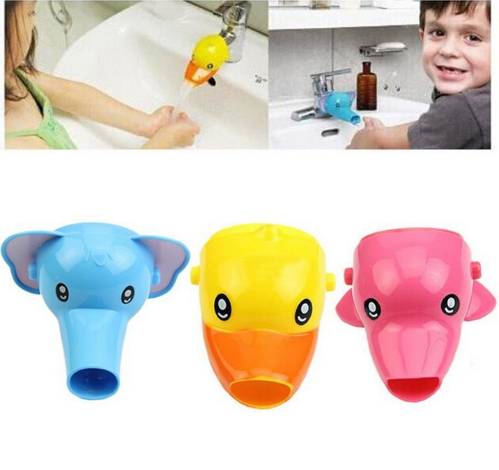 Delicious Children's Cartoon Faucet Hand Washing Accessories Baby Faucet Faucet Extender Hot New Cute Long Performance Life