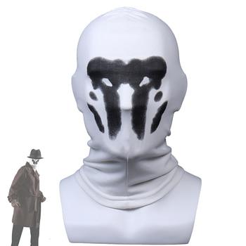 Rorschach Mask Halloween Inkblot Masks Watchmen Costume Cosplay Masques Anime Mascarillas Superhero Face Mascaras Party Props сумка printio хранители watchmen