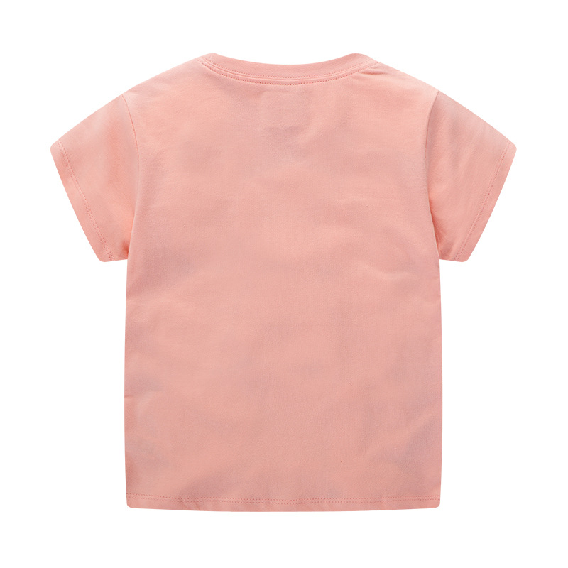 Ha94a2e7b57dd404da9f6390afba892dfq Baby Girl Summer Clothes s Flower Swan Tees Shirts Outfits Cute Infant T Shirts Lovely Children Clothing Kids Summer Clothes