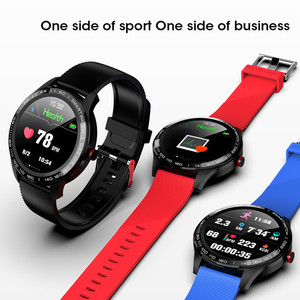 Image 5 - L9 smart watch men  PPG+ECG heart rate blood pressure monitor activity fitness tracker IP68 waterproof watches PK  iwo 10