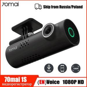 Voice Control 70mai Car DVR Camera 1080P HD 70 Mai Dash Cam Car Camera Wifi Night Vision 130 Wide Angle G-sensor Video Recorder(China)