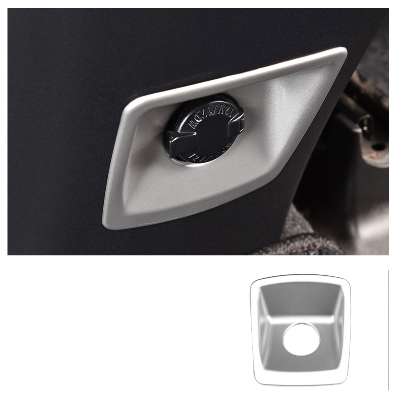 Lsrtw2017 for <font><b>Toyota</b></font> <font><b>Rav4</b></font> Car Rear Cigarette Lighter Panel Trims Decorative Interior <font><b>Accessories</b></font> 2013 2014 2015 2016 2017 <font><b>2018</b></font> image