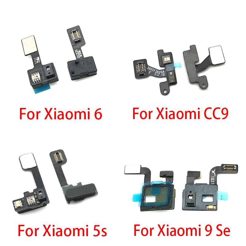 For Xiaomi Mi 5 5S Mi6 6 Mi9 9 CC9 Proximity Light Sensor Flex Cable Distance Sensing Connector
