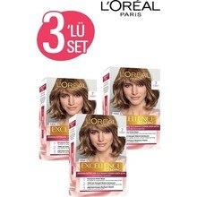 Краска для волос L'Or Paris Excellence Creme 7 Auburn x3 шт