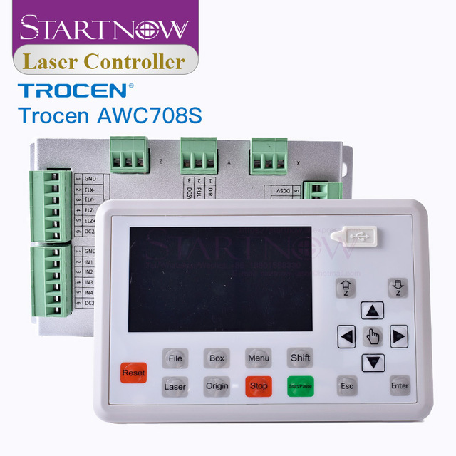Trocen AWC708S 708S CO2 Laser Controller Board Replace Ruida System CNC Control Card 708C For Laser Cutting Machine Spare Parts