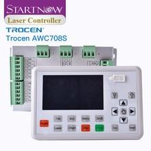 Trocen awc708s 7813 placa de controlador do laser co2 substituir ruida sistema cnc cartão controle 708c para peças sobresselentes da máquina corte a laser