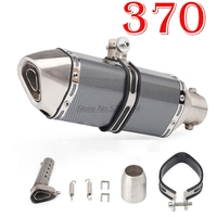 Motorcycle Exhaust Pipe Moto Escape Muffler DB killer for Silencieux Moto Universel Wydech Motocyklowy Marmitta