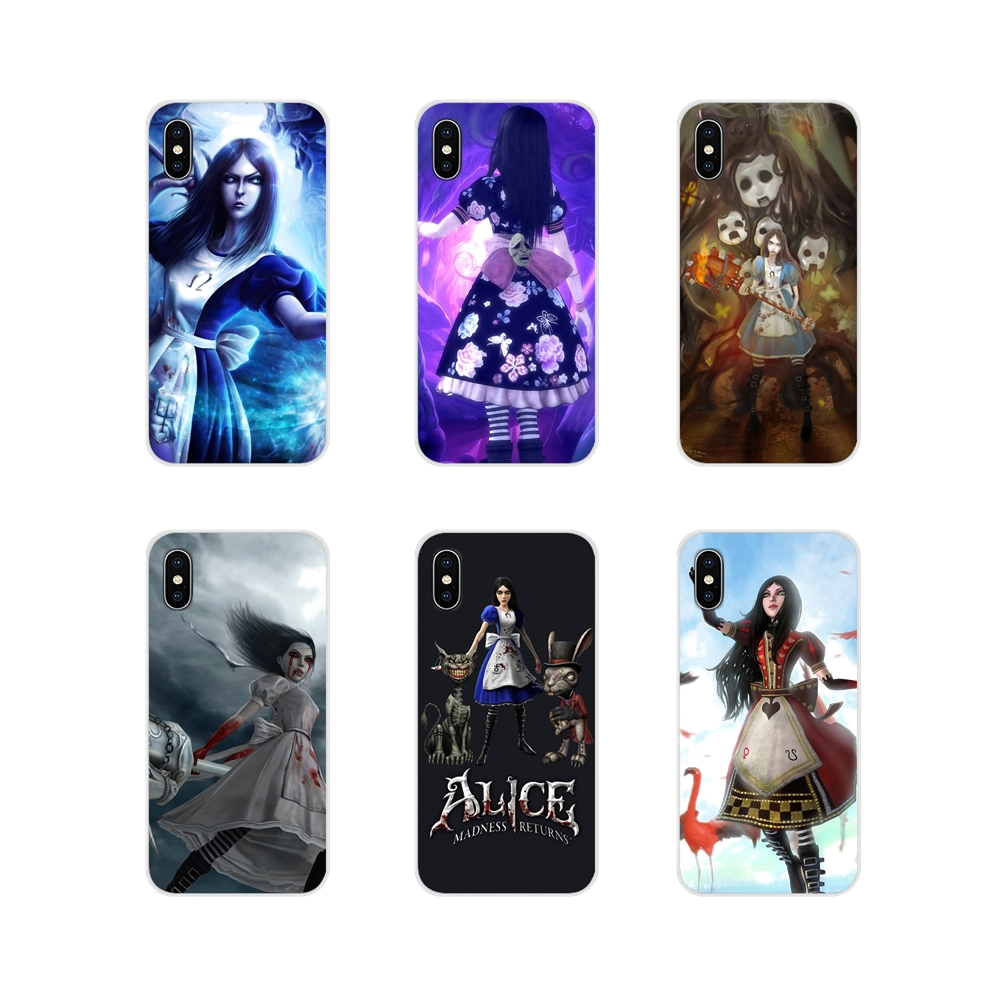 Accessories Phone <font><b>Cases</b></font> Covers Alice Madness Returns For <font><b>Huawei</b></font> Y5 Y6 Y7 Y9 Prime Pro <font><b>GR3</b></font> GR5 <font><b>2017</b></font> 2018 2019 Y3II Y5II Y6II image