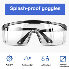 Safety Glasses Personal Protective Equipment Eyewear Protection Transparent Clear For Laboratory Chemistry white chemistry laboratory equipment plastic ptfe separatory funnel