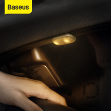 Baseus Car Interior Light 2pcs Auto Roof Ceiling Magnetic Reading Lamp LED Car Styling Touch Night Light Ceiling Lamp