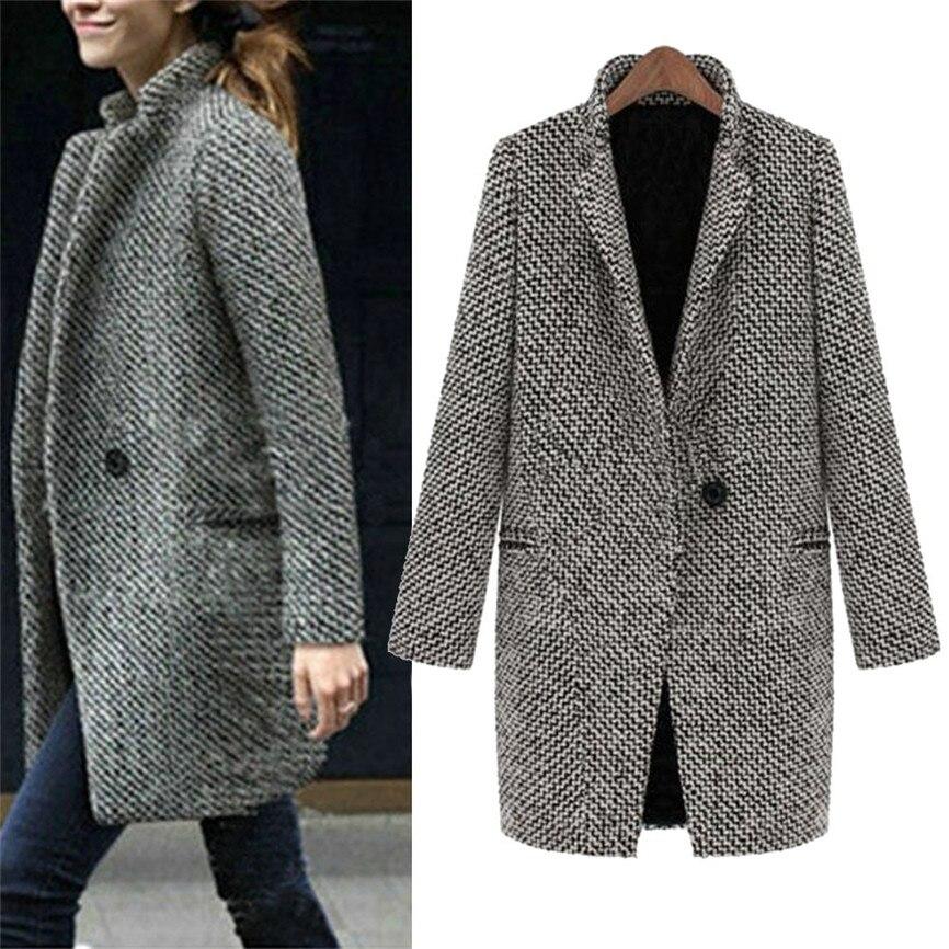 Womens Winter Parka Coat Jacket Ladies Winter Warm Long Trench Outwear
