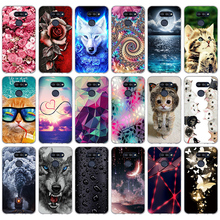 For LG K40S Case Cover 6.1 inch TPU Soft Silicone Back