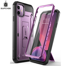 For iPhone XR /Xs Max/ 11/11 Pro/11 Pro Max Case SUPCASE UB Pro Rugged Holster Cover with Built-in Screen Protector & Kickstand(China)