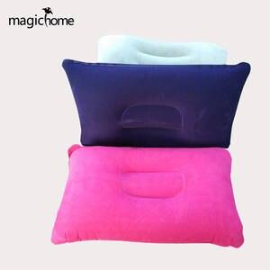 Portable Inflatable Pillow Travel Outdoor Folding Neck Pillow Cushion Kids Beach Car Plane Travel Pillows For Sleeping
