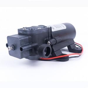 Image 4 - Миниатюрный мембранный насос высокого давления, 12 В, 24 В, 60 Вт, 5 л/мин, с автоматическим переключателем, многофункциональный насос постоянного тока