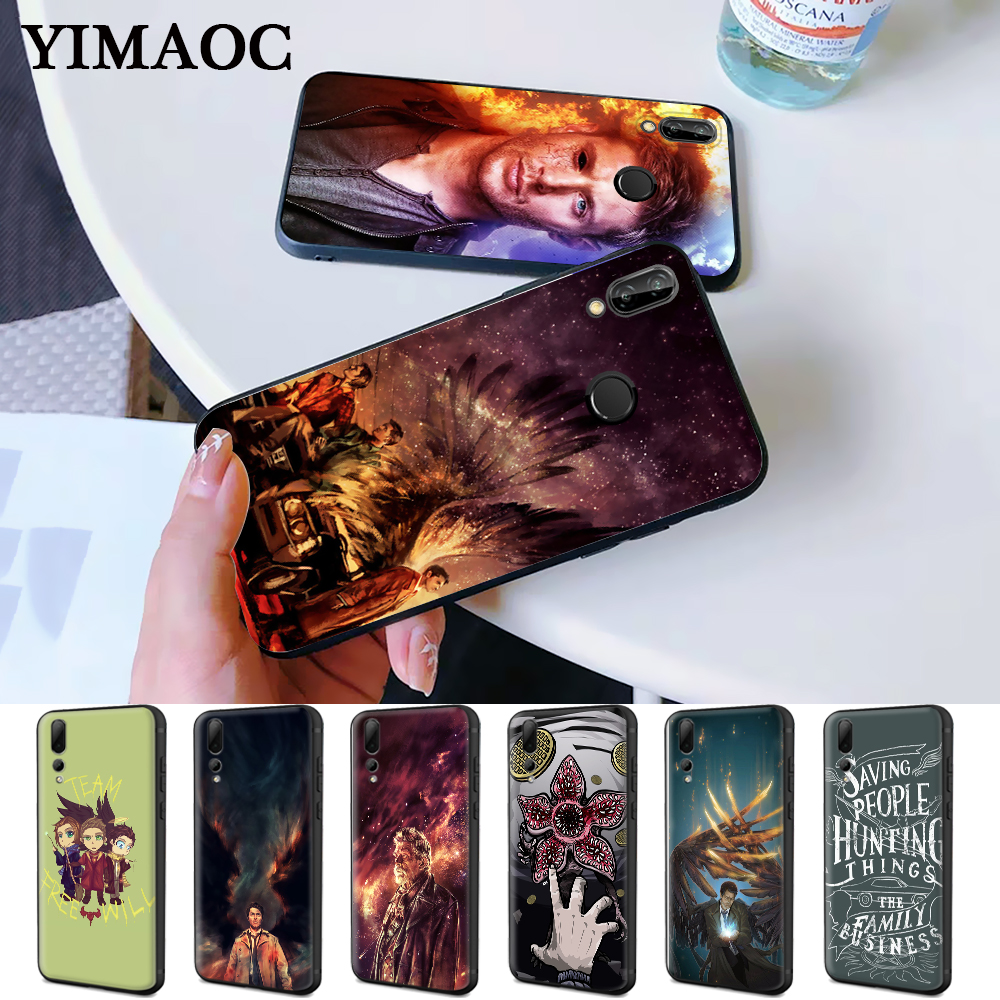 Supernatural TV Movie Coque cool Silicone Case for Huawei P8 Lite 2015 2017 P9 2016 Mimi P10 P20 P30 Pro P Smart Z 2019 Plus image