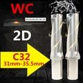 Сверла WC C32 2D 31 мм 32 мм 33 мм 34 мм 35 мм U дрель индексируемая вставка быстрое сверло с ЧПУ металлический сверлильный инструмент для Index WC вставки