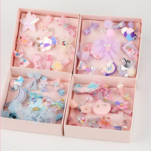 10Pcs Baby Hair Clips Set For Girls Lace Crown Hairpins Toddler Pins Kids And Barrettes Accessories